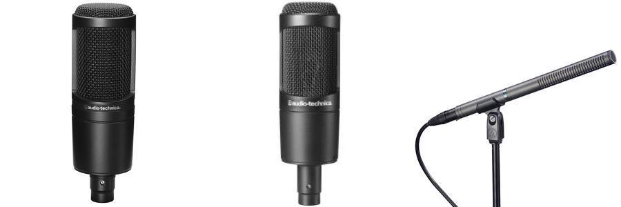 top thương hiệu micro tốt nhất Audio Technica
