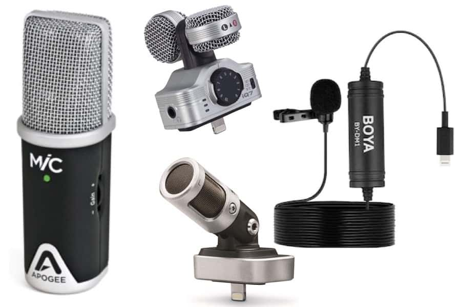 Top 4 Best External Lightning Microphones For Iphone Audio My New Microphone
