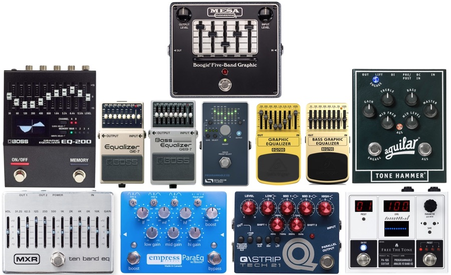 Top 12 Best Eq Pedals For Guitar Bass My New Microphone